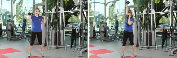 Rotational Shoulder Press