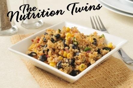 Creamy Spinach and Black Bean Quinoa