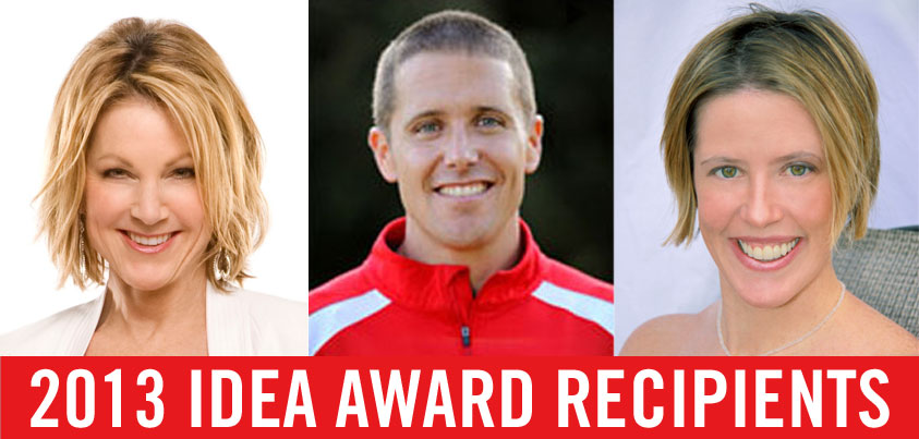 IDEA's 2013 Award Winners: Professional Advice From the Best of the Best | American Council on Exercise | Expert Articles | 7/23/2013