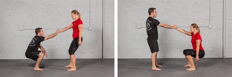 1 arm squat