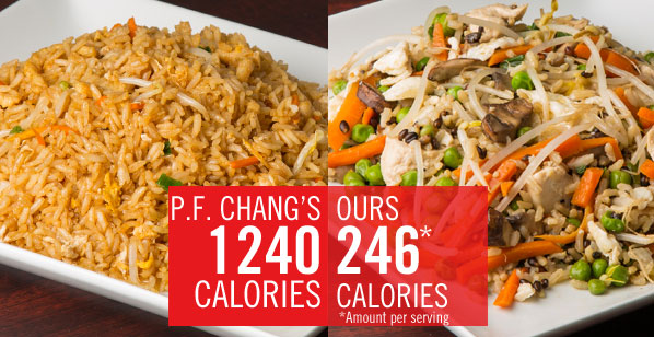 Chain Restaurant Favorites Get a Healthy Makeover: P.F. Changs Chicken Fried Rice