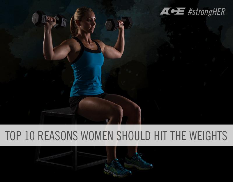 Top 10 Reasons Women Should Hit the Weights | Shana Verstegen | Expert Articles | 9/23/2014