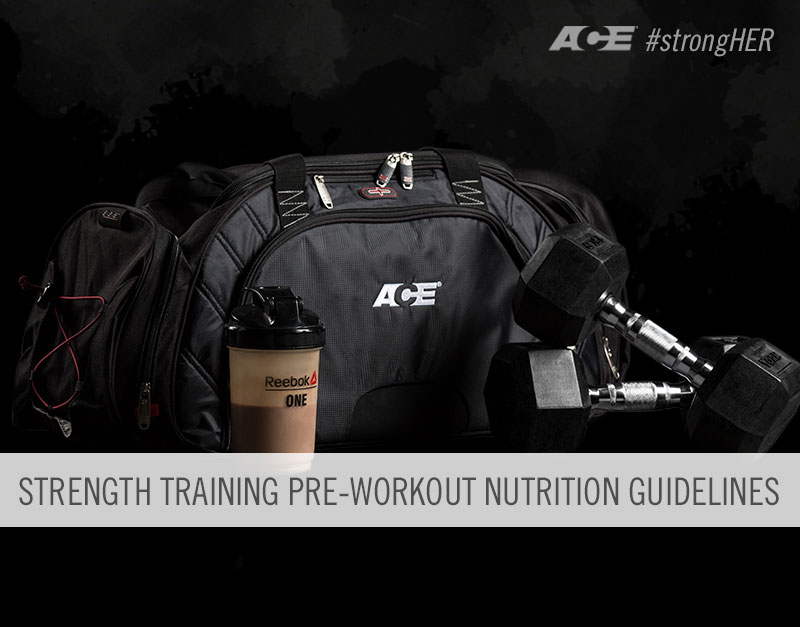 strength training pre-workout nutrition