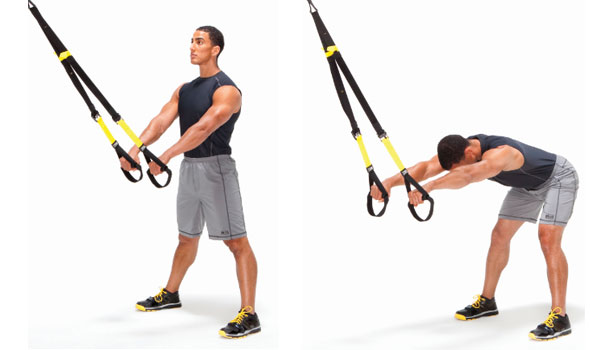 TRX Wide Leg Hip Hinge