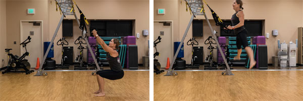 TRX Power Squat Explosion