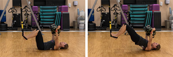 TRX Hip Press with USB Press