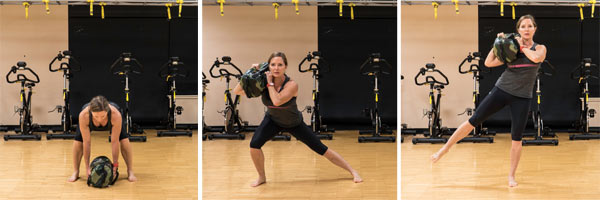 USB Shoulder Lateral Lunge