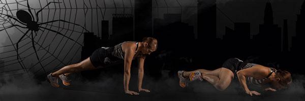 plank push-ups