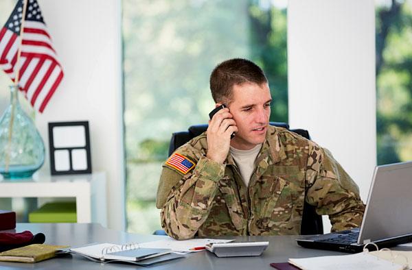 military recruiter