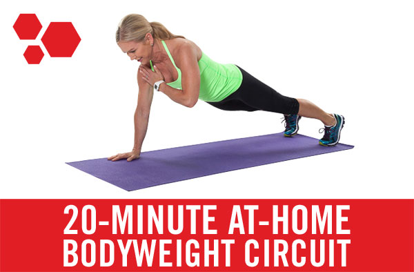 20-Minute At-home Bodyweight Circuit