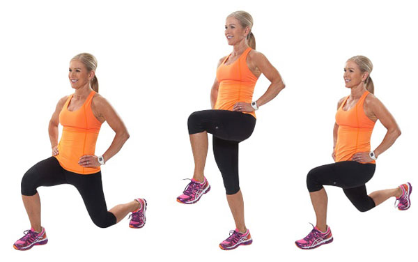 Pass-through Lunge