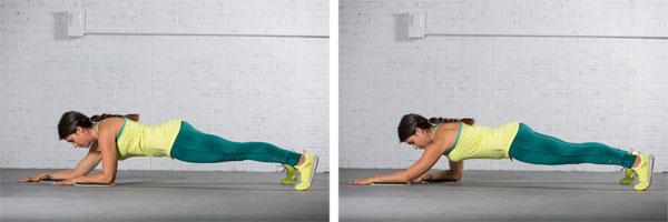forearm sagittal plank