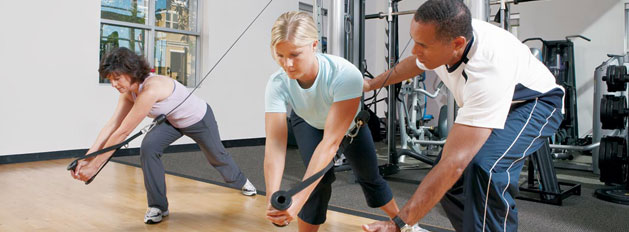 Working with a trainer