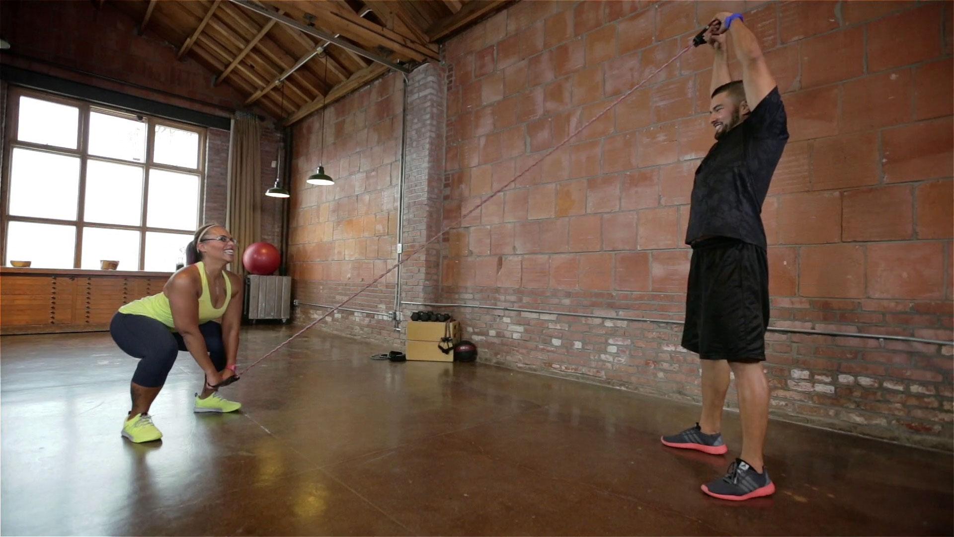 Partner HIIT Workout