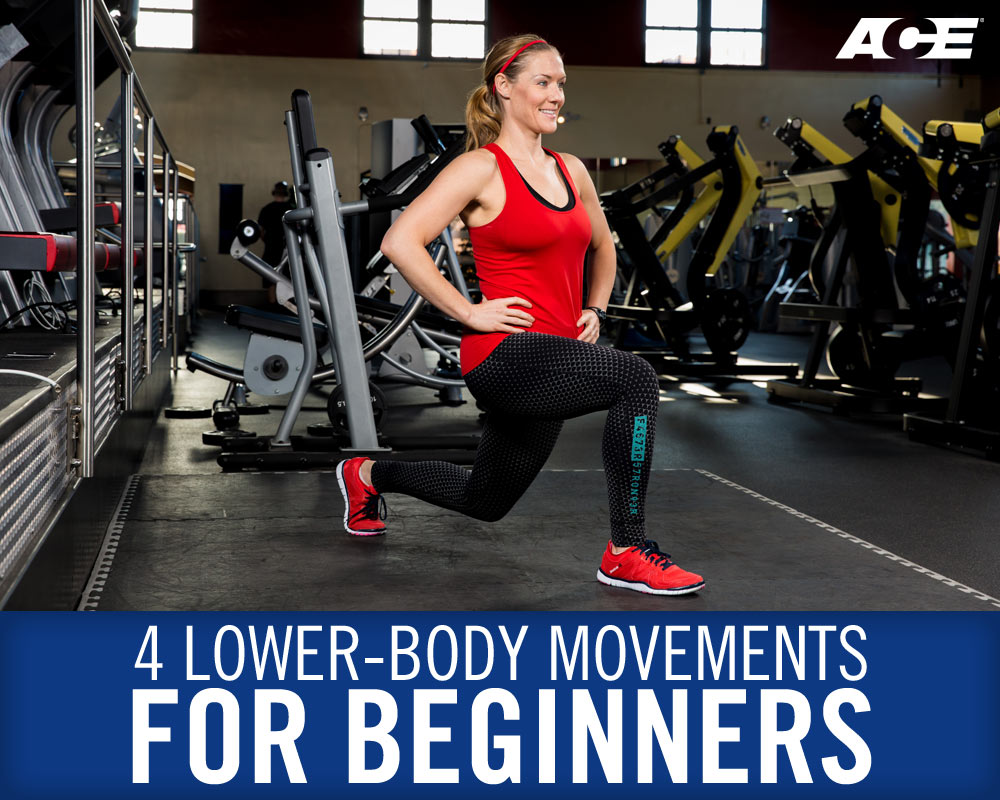 4 Lower-body Movements for Beginners