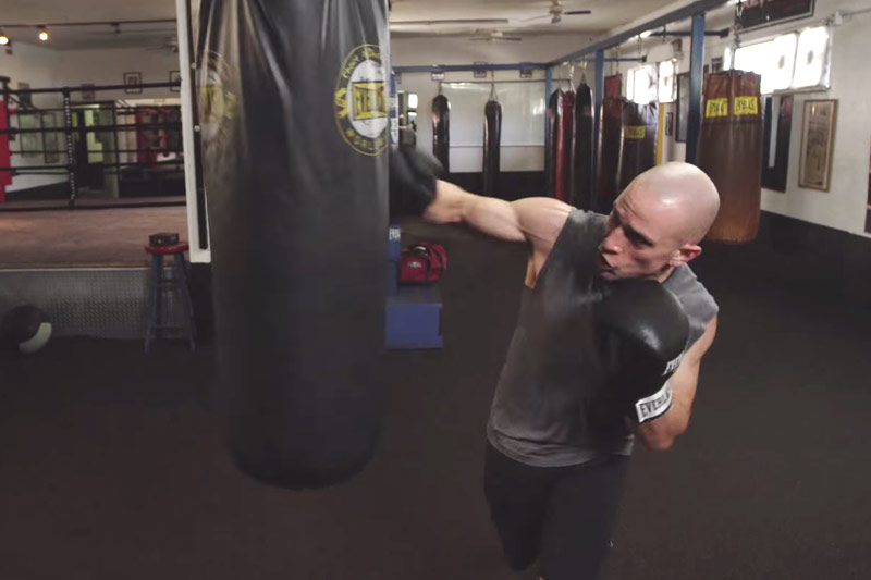 Boxing-inspired Workout