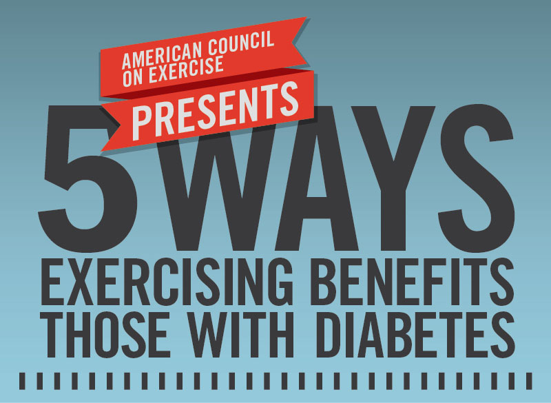 5 Ways Exercising Benefits Those With Diabetes
