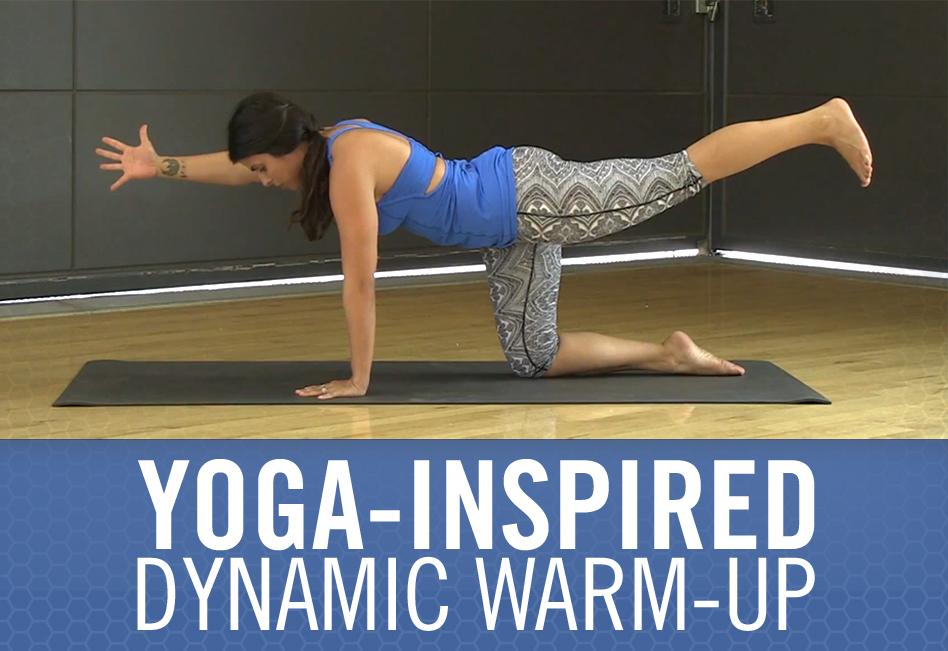 Yoga-inspired Dynamic Warm-up