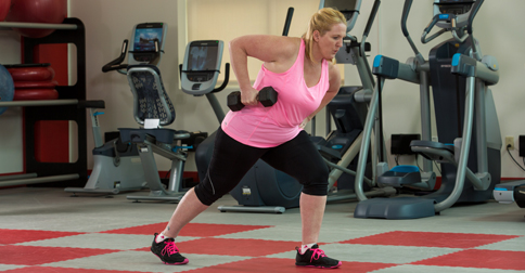 exercise progressions for clients who are overweight or