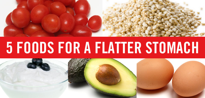 5 Foods for a Flatter Stomach | The Nutrition Twins | Expert Articles | 5/19/2014