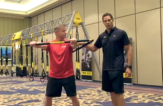 TRX® Rip Trainer™ Workout with Creator Pete Holman | American Council on Exercise | Expert Articles | 9/10/2013