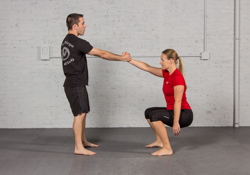 Jiu-Jitsu Inspired Partner Workout