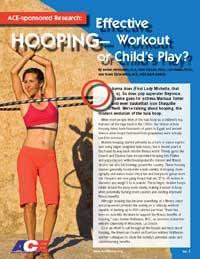 hula hoop study