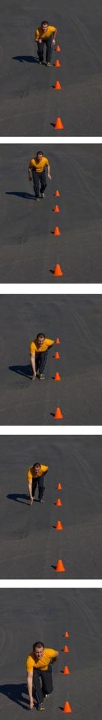 sprint drill