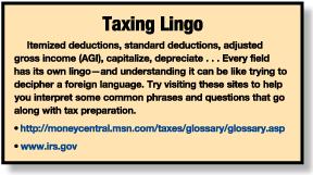taxing lingo
