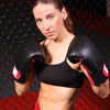 cage fighting mixed martial arts
