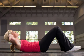 How to Properly Do Crunches.
