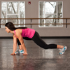 Lunge with Elbow Instep