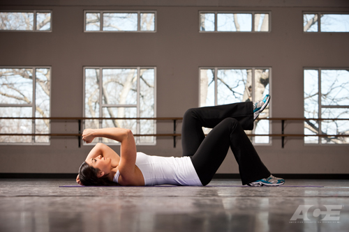 Ace Fit Ab Exercises Supine Dead Bug