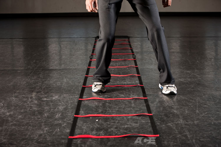 Ace Fit Full Body Exercises Multidirectional Ladder Drill