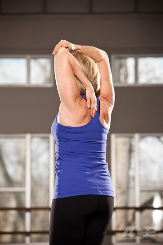 exercise stretch arm overhead triceps exercises