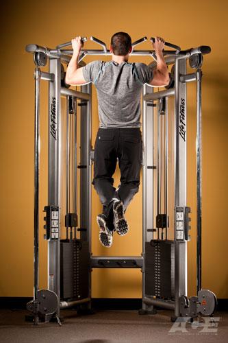 ace fit back exercises pull ups. Black Bedroom Furniture Sets. Home Design Ideas