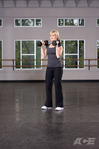 Back Exercises | Front Squat