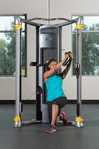 Full Body/Integrated Exercises   Kneeling Hay Baler