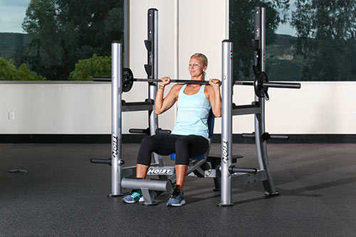 Arm Exercises Seated Shoulder Press