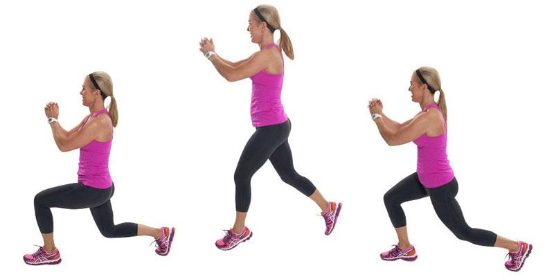 jump split squat