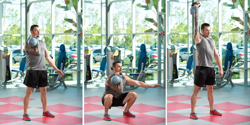 Metabolic Conditioning Kettlebell Complex