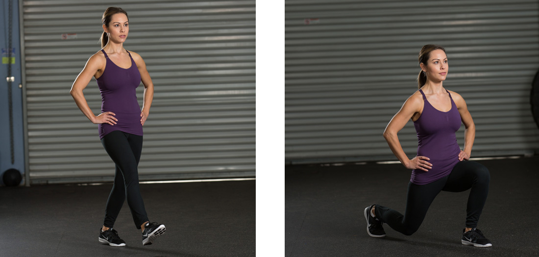 5 Lunge Variations You Need to Try | Franklin Antoian | Expert Articles | 2/15/2016