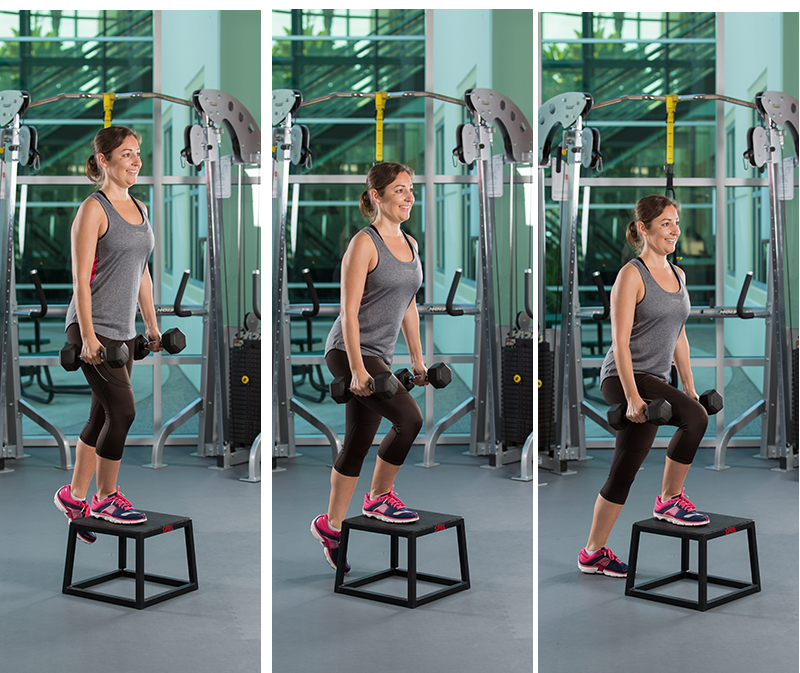 Eccentric Step Down With Load