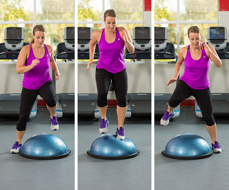 BOSU Lateral Quick Feet