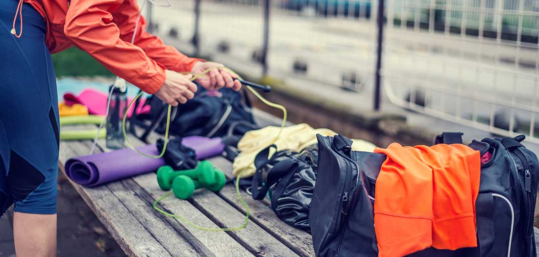 What's In Your Gym Bag? Must Have Items for your Group Fitness Class