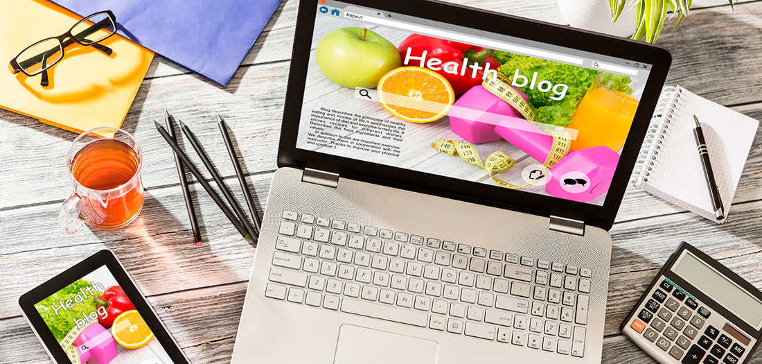 how to write a health blog