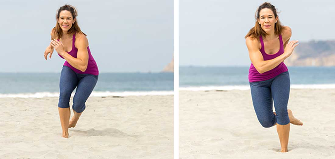 7 Beach Workouts to Do in the Sand