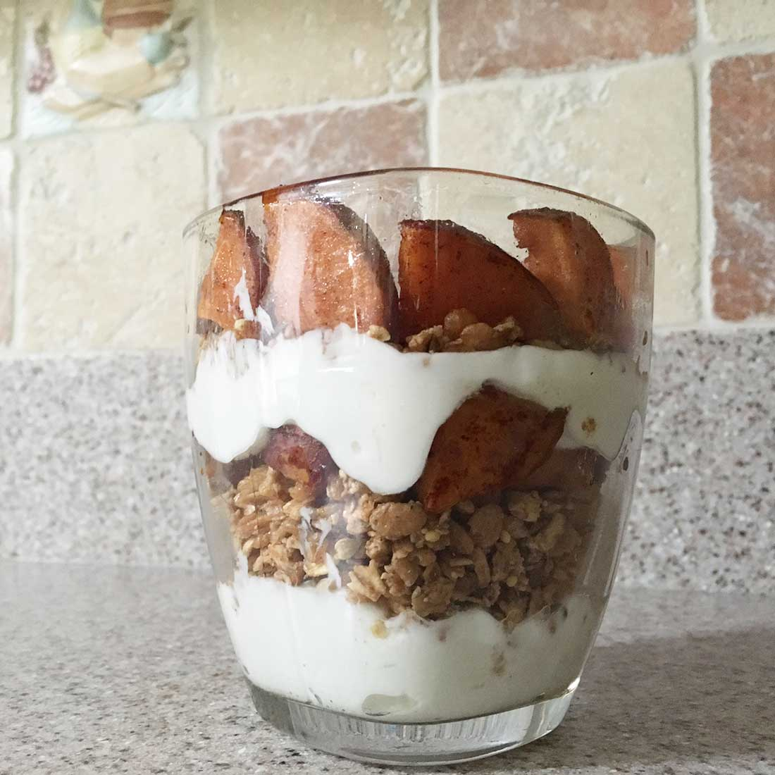 Yam and Yogurt Parfait