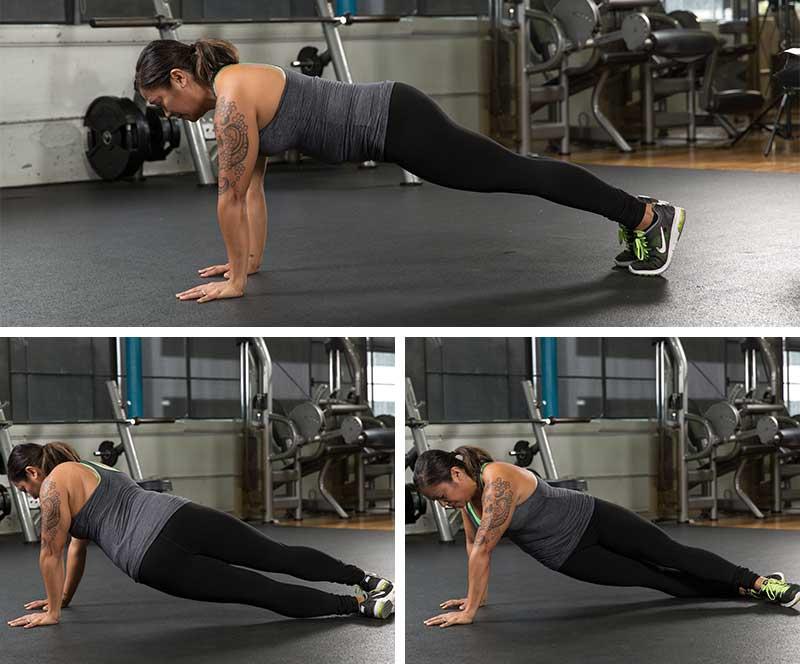 Pivot Planks