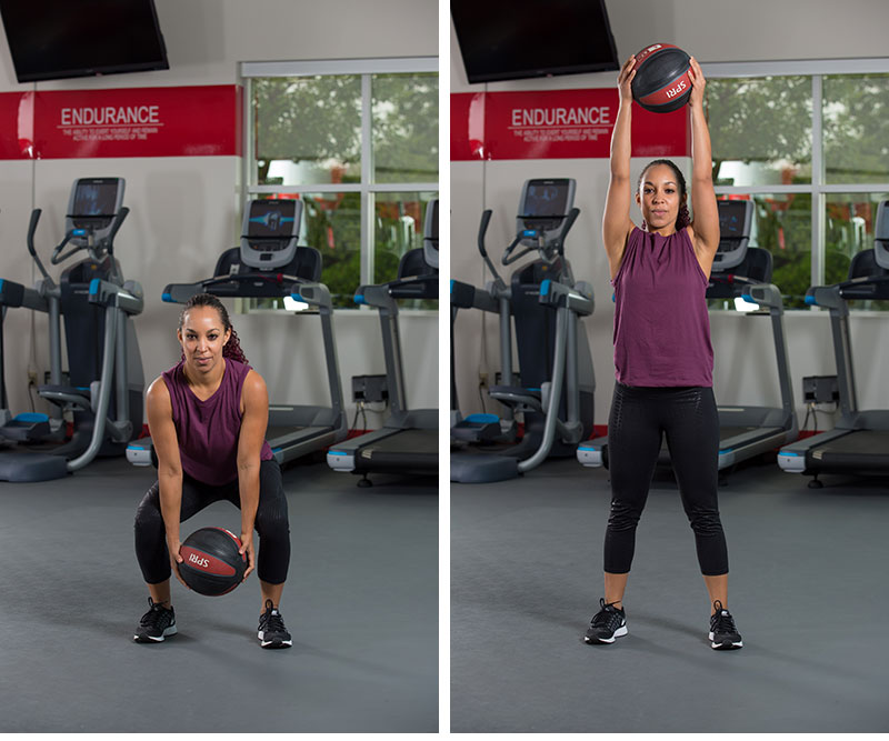 Lift with Medicine Ball